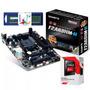 Kit Apu A8 7600 Gamer Ram 4gb Usb3.0 Hdmi Gigabyte