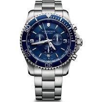 Reloj Victorinox Maverick Azul Cronos 241689 Swiss Army