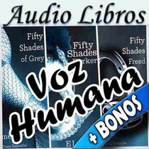 50 Sombras De Grey Trilogía Audiolibros Con Regalos Extras
