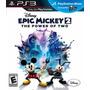 Epic Mickey 2 Ps3 Venta Y Cambio