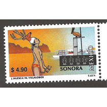 México Turístico Sonora $4.90 Nueva 14a Serie