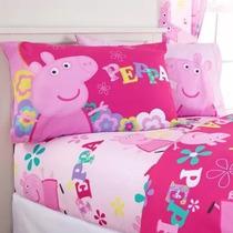 Peppa Pig Sábanas Individuales La Cerdita Discovery Kids