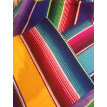 Sarape De Saltillo Artesanía 100% Mexicana Matrimonial