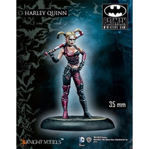Harley Quinn Figura Para Armar 35mm, Knight Models. Batman