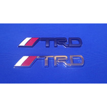 Emblema Trd Metálico Adherible