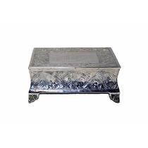 Base Para Pastel Cuadrada Plateada Soporte Elegante Giftbay