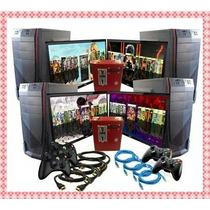 Paquete 4 Pc Xbox 360 2tb Y 4 Pantallas Negocio Cibercafe