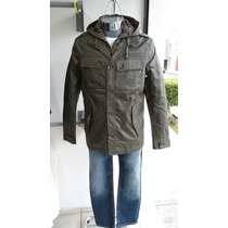 Chamarra Impermeable Forever 21 Slim Fit Casual