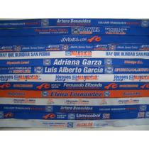 Pulseras De Tela, Bordadas, Para Campaña, 1000 Por $1500