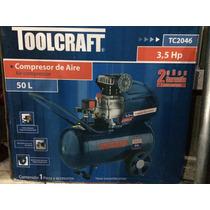 Compresor / Compresora Toolcraft 3 Hp 50 Lts