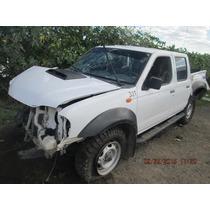 Nissan Np300 Doble Cabina Diesel 2011 Venta De Refacciones