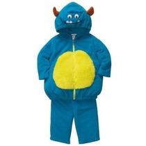 Disfraz De Halloween De Blue Carter Monster 2 Pcs Camisa Con