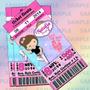 Invitaciones Ballet -ticketparty-fiesta Ballet-invitaciones