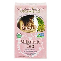 Tierra Mama Angel Baby Organic Tea Enfermería Lechera 16 Bol