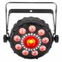 Luminaria Led Multiefectos Rgb+uv Y Estrobo, Chauvet Fxpar 9