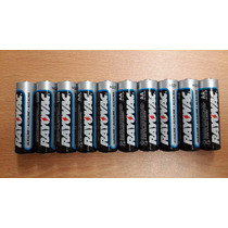 Paquete De 10 Baterías Alcalinas Rayovac Tamaño Aa