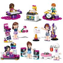 Set Completo Friends Accesorios Y Musica Compatible Con Lego