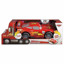 Rayo Mcqueen 35cm Gigante 15 Frases Y Sonidos Big Time Buddy