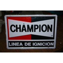 Lamina Troquelada Champion 43 X 30 Cm. Envio Gratis