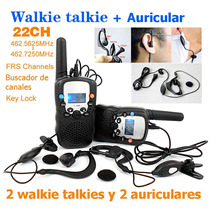 Radio Walkie Talkie T388 Bellsouth + Auriculares