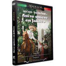 Asi Se Quiere En Jalisco Jorge Negrete Pelicula En Dvd