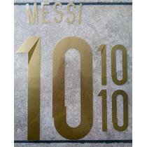 Argentina Estampado Mundial 2014 Messi Di Maria Lavezzi