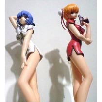 Asuka Langley Rei Ayanami Chicas De Evangelion Vestido Chino