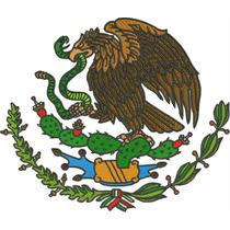 Ponchado Escudo Nacional Mexicano
