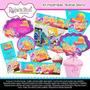 Kit Imprimible Barbie Sirena Cumpleanos Tarjetas Invitacion
