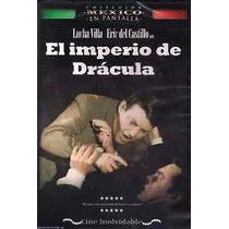 El Imperio De Dracula Dvd Lucha Villa,eric Del Castillo