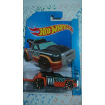 Hot Wheels Grua De Carros Repo Duty Negra C Naranja Lylytoys
