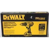 Taladro Atornillador 1/2 De 20v 2 Baterias Dewalt Dcd771c2