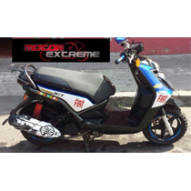 Calcomania Para Escape/mofle Yamaha Bws 125