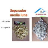 Suelas Para Tejer Separador Media Luna 1000 Piezas