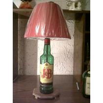 Lamparas De Buro Con Botellas De Alcohol