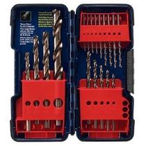 Bosch Co18 18 Piezas Surtido Torcedura Cobalto Broca En Caja