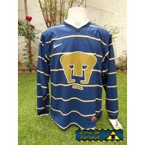 Jersey Pumas Unam Retro Azul Marino 1997 Nike ¡¡