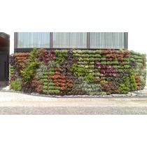 Jardín Vertical, Muro Verde, Huerto Vertical, Fachada Verde