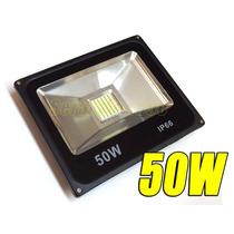 Luminaria Lampara Reflector Led 50w 12vdc / 24vdc Baterias