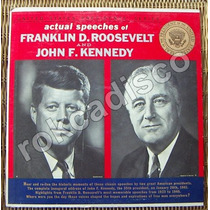 Documental, John F. Kennedy, Franklin D. Roosevelt, Lp 12´,