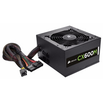 Fuente De Poder Gamer Corsair Cx600m 600w 80 Plus Bronce