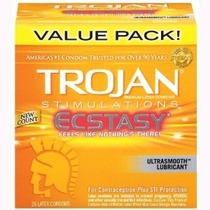 Preservativo Condon Trojan E- Tasy Texturizado 26 Pack
