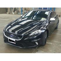 Volvo V40 R-desing 2014 Negro 213hp Turbo 2.0l 6v
