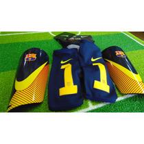 Espinillera De Futbol Fc Barcelona Mercurial Lite ( Neymar )