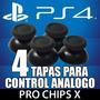 4 Tapas Originales Ps4 Gomas Control Palanca Analogo Stick