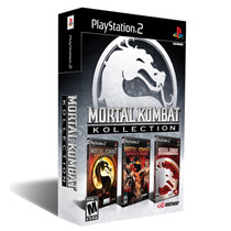 ¡ Mortal Kombat Kollection Para Ps2 Incluye 3 Juegos En Wg !