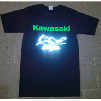 Camisa Kawasaki Ninja Playera Reflejante Personalizada