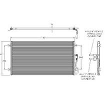 Condensador Stratus/cirrus 98-00