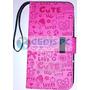 Funda Tipo Cartera Italia Rosa Samsung S5310 Pocket Neo Mica