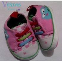 Zapato Bebe Niña Rosa Ranita Zapatito Princesa